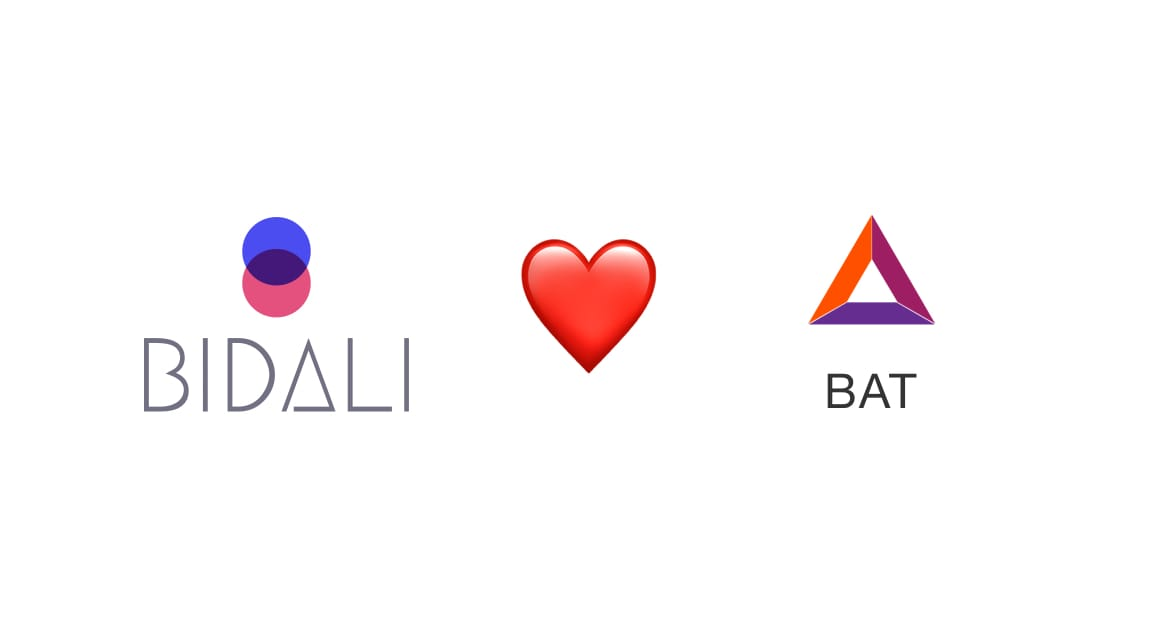 Bidali loves BAT